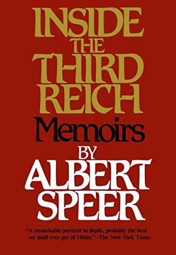 9780684829494: Inside the Third Reich