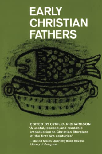 9780684829517: Early Christian Fathers (Library of Christian Classics (Paperback Westminster))