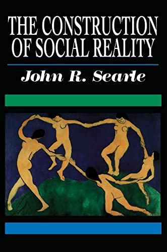 9780684831794: Construction Social Reality _p