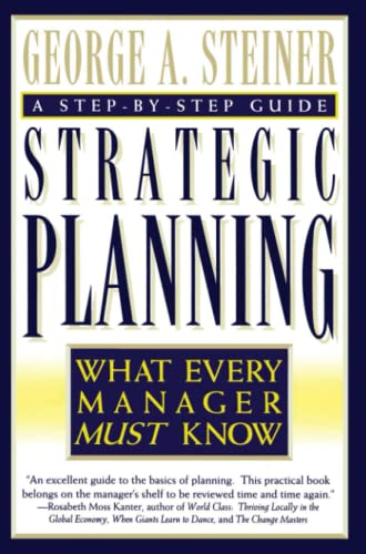9780684832456: Strategic Planning