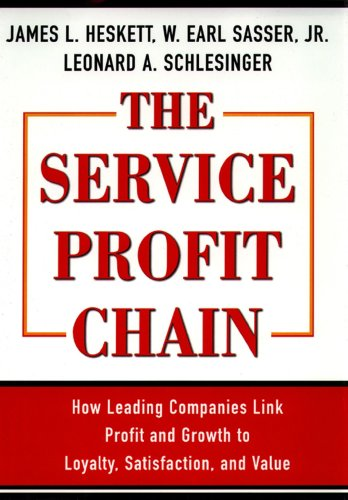 9780684832562: The Service Profit Chain: How Leading Companies Link Profit and Growth to Loyalty, Satisfaction, and Value