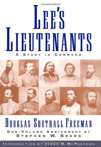 9780684833095: Lees Lieutenants 3 Volume Abridged: A Study in Command