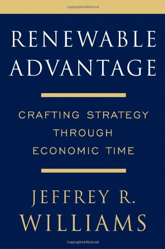 9780684833699: Renewable Advantage: Crafting Strategy Through Economic Time