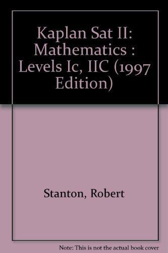 SAT II MATH (1997 Edition): Kaplan, Stanley