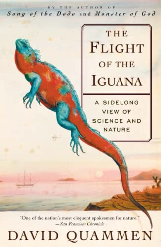 9780684836263: The Flight of the Iguana: A Sidelong View of Science and Nature