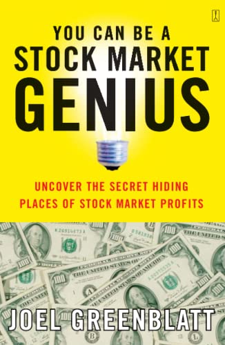9780684840079: You Can Be a Stock Market Genius Uncover the Secret Hiding Places of Stock Market Profits