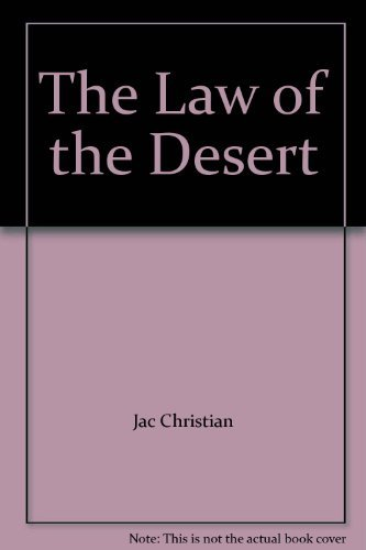 9780684840628: The Law of the Desert