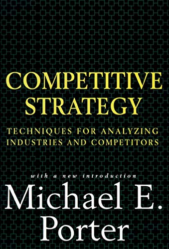 9780684841489: Competitive Strategies: Techniques for Analyzing Industries and Competitors