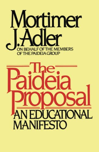 9780684841885: The Paideia Proposal: An Educational Manifesto