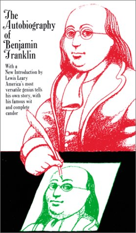 9780684841960: The AUTOBIOGRAPHY OF BENJAMIN FRANKLIN