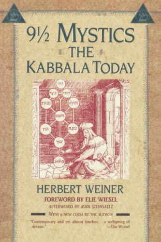 9780684843254: Nine and a Half Mystics: The Kabbala Today