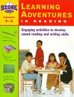 9780684844343: Kaplan Learning Adventures In Reading: Grades 3-4