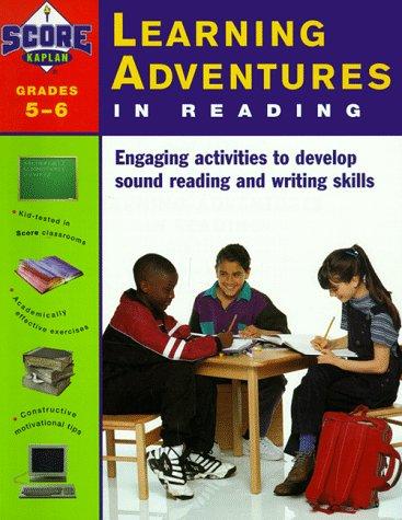 9780684844374: Kaplan Learning Adventures In Reading: Grades 5-6