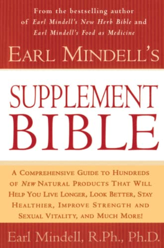 9780684844763: Earl Mindell's Supplement Bible