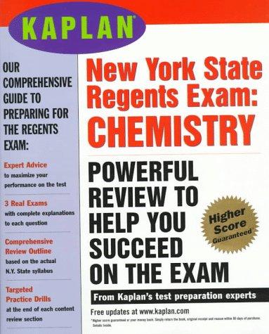 9780684845418: Kaplan New York State Regents Exam: Chemistry