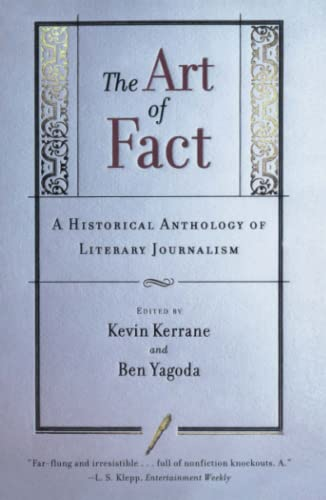 9780684846309: The Art of Fact: A Historical Anthology of Literary Journalism