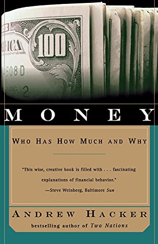 9780684846620: Money: Who Has How Much and Why