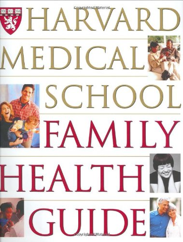 9780684847030: Harvard Medical School Family Health Guide