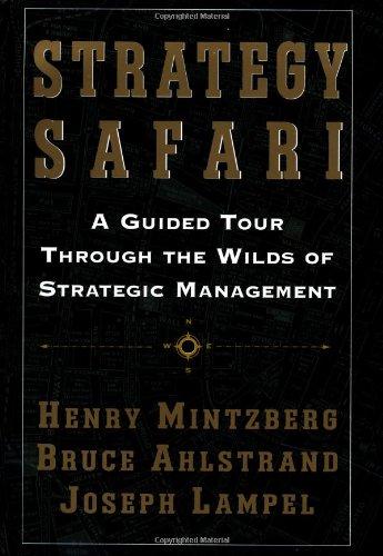 henry mintzberg strategy safari