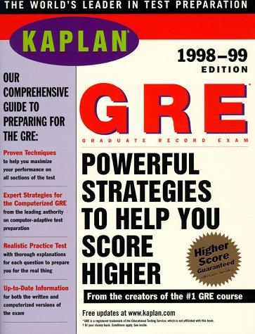 KAPLAN GRE 1998 1999 (Serial): Kaplan; Kaplan,