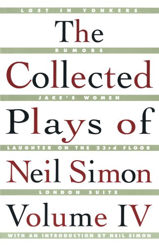 9780684847856: The Collected Plays of Neil Simon, Volume IV: Vol 4