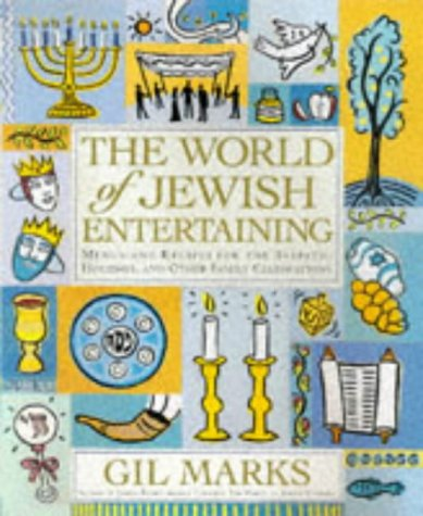 9780684847887: The World of Jewish Entertaining: Recipes for the Sabbath and Family Celebrations