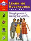 Learning Adventures Quiz Me!: A Thorough Assessment of Essential Skills and Concepts for Reading, ...