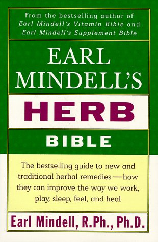 EARL MINDELL S HERB BIBLE: MINDELL, EARL