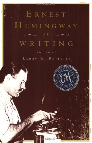 9780684854298: Ernest Hemingway on Writing