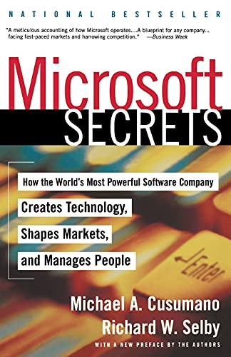 9780684855318: Microsoft Secrets: How the World's Most Powerful Software Company Creates Technology, Shapes Markets and Manages People