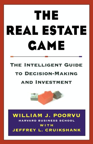 9780684855509: The Real Estate Game: The Intelligent Guide to Decisionmaking and Investment