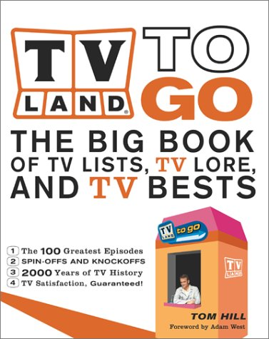 9780684856155: TV Land To Go: The Big Books of TV Lists, TV Lore, and TV Bests