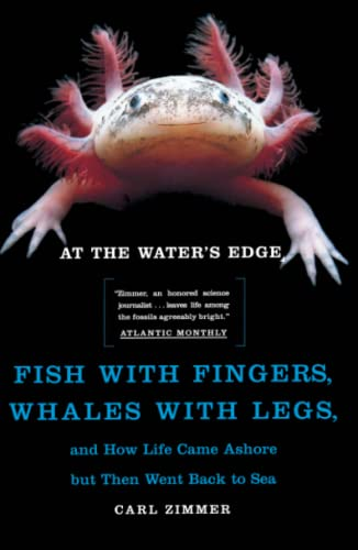 9780684856230: At the Water's Edge : Fish with Fingers, Whales with Legs, and How Life Came Ashore but Then Went Back to Sea