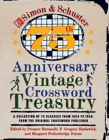 Simon and Schuster 75th Anniversary Vintage Crossword Treasury