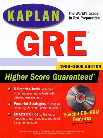 Kaplan GRE 1999-2000 with CD-ROM: Kaplan