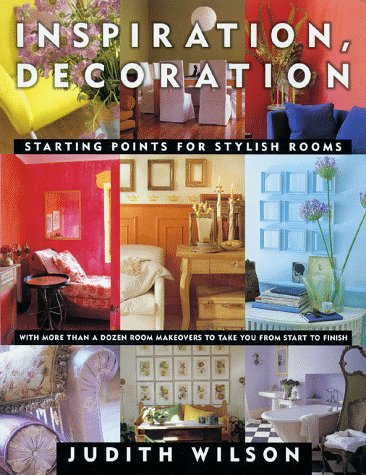 9780684856803: Inspiration Decoration: Starting Points for Stylish Rooms
