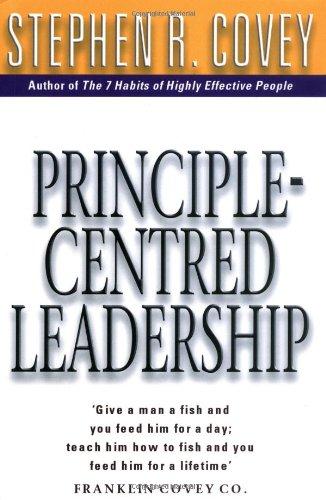 9780684858418: Principle Centred Leadership