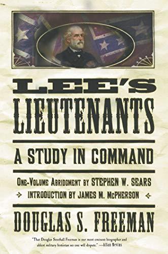 9780684859798: Lee's Lieutenants: A Study in Command