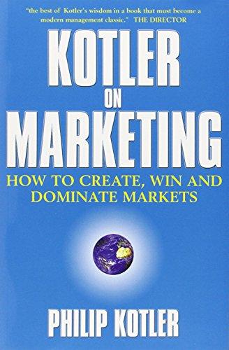 9780684860473: Kotler on Marketing