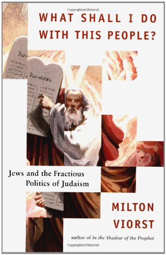 What Shall I Do with This People?: Jews and the Fractious Politics of Judaism: Milton Viorst
