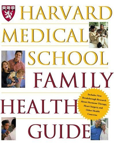 9780684863733: Harvard Medical School Family Health Guide
