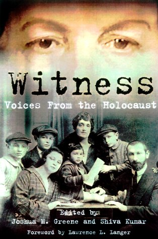 Witness: Voices from the Holocaust: Joshua M. Greene,
