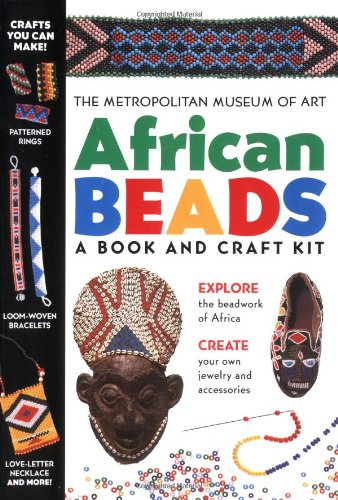 9780684867847: African Beads: A Book and Craft Kit