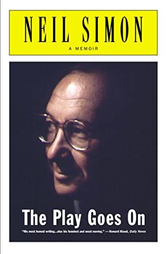 9780684869803: The Play Goes on: A Memoir
