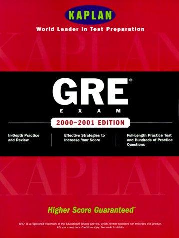 9780684870090: Kaplan Gre Exam 2000 2001 (Gre (Kaplan))
