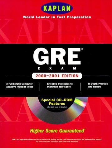 9780684870106: Kaplan Gre Exam 2000 2001 With Cd Rom (Gre (Kaplan)(Book & CD-Rom))