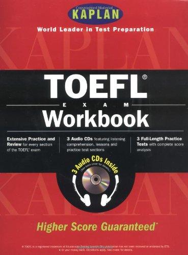 9780684870960: Kaplan Toefl Workbook With 3 Audio Cds