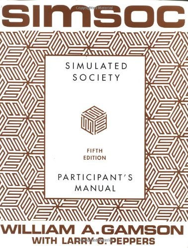 9780684871400: SIMSOC: Simulated Society, Participant's Manual: Fifth Edition (Participant's Manual)