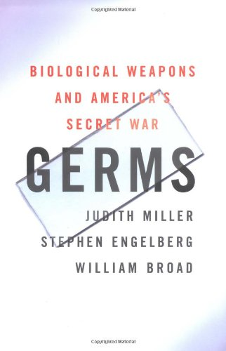 9780684871585: Germs: Biological Weapons and America's Secret War