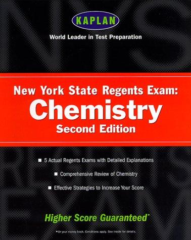 9780684871615: Kaplan New York State Regents Exam: Chemistry, Second Edition